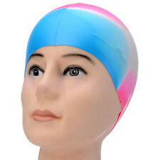 Colorful Adult Silicone      Elasticity Swim Cap Swimming Hat Flexible Durable