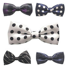 27 Multi Styles Bowtie Boy Kid Toddler Pre Tied Wedding School Bow Tie Necktie