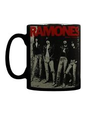 Ramones Rocket To Russia Black Mug