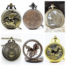 High Quality Table  pocket watch necklace pendant for Men or Women Multi Choices