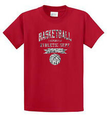 Basketball Athletic Dept Printed Tees Mens Reg to Big and Tall Port and Company