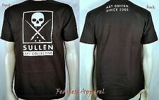 Sullen Clothing Driven Since 2001 Skull Scary Punk Goth Tattoo T Shirt S-5Xl