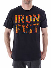 Iron Fist T-Shirt Tee Raw Power black Print Crew neck short sleeve