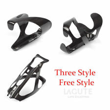 Lagute Carbon Fibre Water Drink Bottle Cage Holder Bracket Bike Bicycle MTB Rack