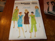 Butterick Pattern B5196 Ms EZ Maternity Wardrobe ~Top, Dress, Shorts & Pants