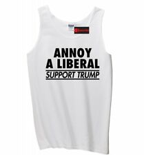 Annoy Liberal Support Trump Mens Tank Top Political Protest Republican Tank Z3