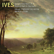 IVES DALLAS SYMPHONY ORCHESTRA LITTON - SYMPHONIES NOS 1 & 4 CENTRAL NEW CD