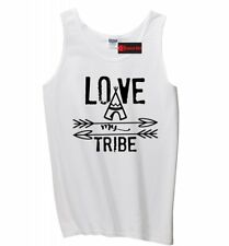 Love My Tribe Mens Tank Top Mothers Day Fathers Day Gift Mom Dad Sleeveless Z3