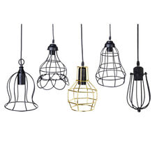 Edison E27 Vintage Iron Pendant Light Chandelier Ceiling Hanging Lampshade PICK