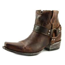 "Old Gringo Viviana 6"" Women  Square Toe Leather Brown Western Boot"