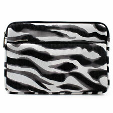 Zebra w/ Front Package Slim Neoprene Briefcase Case for Windows & Android Tablet