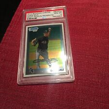 6 Chris Sale 2010 Bowman Chrome #92 PSA 10 Rookie cards