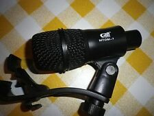 Snare/Tom Microphone: Gatt Audio Dynamic Drum Mic/Mike MTOM-7
