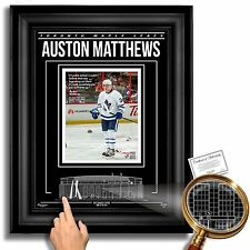 AUSTON MATTHEWS Toronto Maple Leafs Air Canada Centre - Archival Etched Glass™