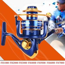 12BB Fishing Reel Spinning Metal Spool Reels Ball Bearings High Speed FH