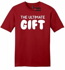 The Ultimate Gift Mens Soft Shirt Funny Party Tee Brother Gift College Tee Z2