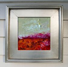 CLAIRE MCELVEEN ORIGINAL PAINTING AUCTION AMERICAN PLEIN AIR ABSTRACT LANDSCAPE