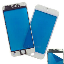 Front Outer Glass Lens Touch Digitizer Screen Cover+Frame Bezel For Iphone 7 7+