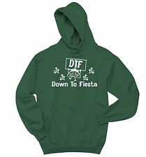DTF Down To Fiesta Funny Sweatshirt Cinco De Mayo Mexican Party Hoodie