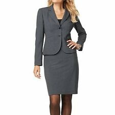 New Calvin Klein Stretch Jacket & Skirt Suit, US Size 12