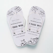NEW STYLE!! HONEYMOON/ WEDDING JUST MARRIED FLIP FLOPS! MEN'S & WOMAN'S