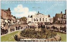 Bedfordshire Biggleswade Market Square Old Photo Print - Size Select - England