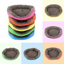 5 Colors Soft Pet Dog Puppy Cat Cozy Warm Nest Bed House with Plush Mat Pad TY