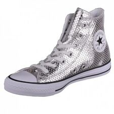 Converse CTAS Hi silver/black/white Shoes Chucks Sneaker Special High 555965C