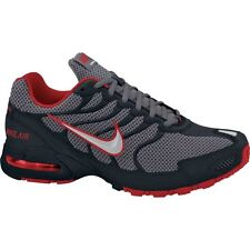 NIKE AIR MAX TORCH 4 GREY SILVER BLACK RED  MENS RUNNING SHOES **BEST SELLER