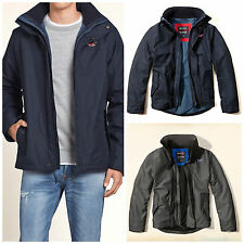 Hollister Men's All-Weather Jackets Sizes M, L, XL New