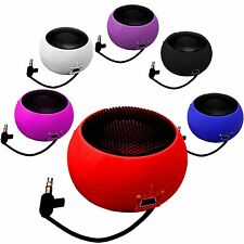 3.5mm PORTABLE RECHARGEABLE MINI CAPSULE SPEAKER FOR MOST MOBILE PHONES