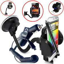 FLEXI WINDSCREEN CAR MOUNT SUCTION HOLDER CRADLE FOR Samsung Galaxy Core Prime