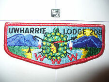 OA Uwharrie Lodge 208,S-4, 1974, Turtle Flap,LB,70,163,Council,North Carolina,NC