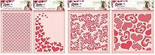 Crafters Companion LOVE & ROMANCE COLLECTION Embossing Folder
