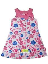 Barbie Pink Floral Licensed Cotton Summer Girls Dress