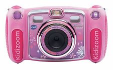 VTECH KIDIZOOM DUO DIGITAL CAMERA - PINK /Blue Brand new boxed