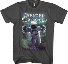 Avenged Sevenfold Spaceman Galaxy Metal Rock Music Charcoal Means T Shirt 7A137