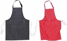 Portwest S855 navy or red butchers apron with pocket size 72cm x 95cm