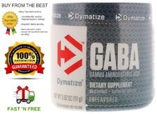 DYMATIZE NUTRITION GABA - BOTH SIZES - GROWTH HORMONE ACTIVATOR + FREE SAMPLE