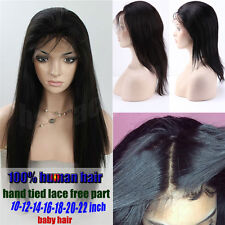 Sexy Girls Full Lace Wig Wavy Curly Long Hair Daily Wear Lace Front Wigs Black