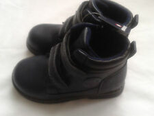 New Murphy & Nye Boys infants Kids Dark Navy Leatherette Winter Ankle shoes