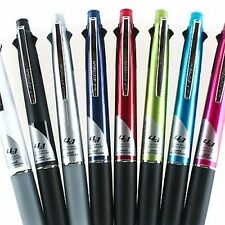 2-6 Pcs UNI JETSTREAM 0.7mm 4-Pens 1-Pencil in-1 Retractable Pen in 8-Colors MSX