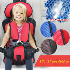 3-12Years Baby Child Car Safety Seat Infant Convertible Booster Portable Chair