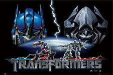 New Transformers – Good and Evil The Transformers Movie Poster
