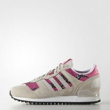 GENUINE ADIDAS ORIGINALS ZX 700 WOMENS GIRLS TRAINERS UK SIZE 8 BNIB GREY/PINK
