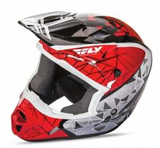 FLY Racing Kinetic Crux 2017 Youth MX/Offroad Helmet Red/Black/White