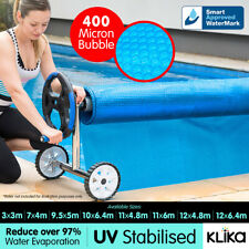 New UV Stabilised Solar Swimming Pool Cover 400 micron outdoor Bubble Blanket