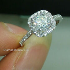 Size 5/6/7/8//9 jewelry 18k white gold Filled AAA Cubic Zirconia CZ Women Ring