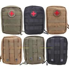 Tactical First Aid Bag Molle Medical EMT Pouch Outdoor Emergency Pack Waterproof