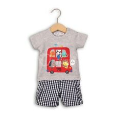 Baby Boys All Aboard T-Shirt & Woven Shorts Outfit (0-12 Months)